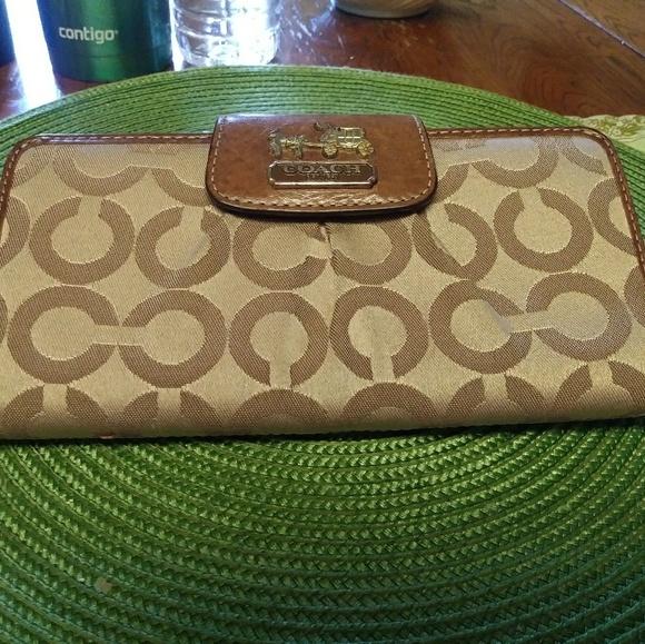 Coach Handbags - Authentic coach wallet